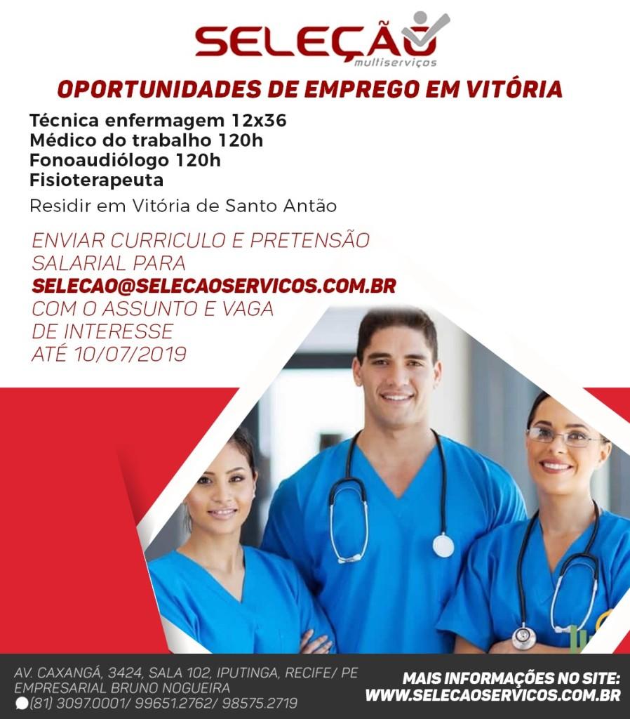 Oportunidades de Emprego em Vitória